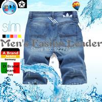 28-38#GC7378,New 2014 Fashion Italian Men's Brand Shorts Jeans Britches,Vintage Blue Breeches Perfume Denim Bermudas Shorts Men
