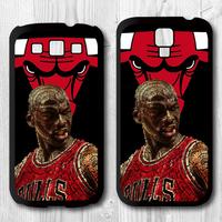 Michael Jordan 23 Protective Black Hard Cover Case For Samsung Galaxy S4 i9500 S3 i9300 P976