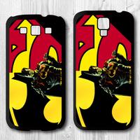 Superman Batman Protective Black Hard Cover Case For Samsung Galaxy S4 i9500 S3 i9300 P948