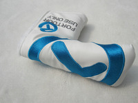 FOR TOUR USE ONLY Blue T PU golf putter head cover golf club headcovers FOR TOUR USE PU 1pc retail