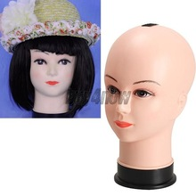 Real Female Mannequin Head Model Wig Hat Jewelry Display Cosmetology Manikin 1ST
