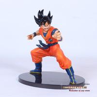 Free Shipping Banpresto Dragon Ball Action Figure Toys Son GoKu Gekitou Tenkaichi Budou 14cm PVC Figure Model Toy For Children