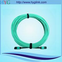 12 core mpo-mpo om3 multimode fiber optic patch cord