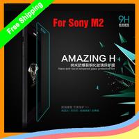 Original NILLKIN Amazing H Nano anti-burst  Tempered Glass Screen Protector Film For Sony Xperia M2 s50H  +  Freeship