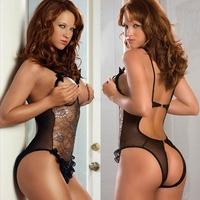 2014 Sexiest Erotic Lingerie Sex Sexy Costumes Women Underwear Ladies Transparent Sexy Lace Lingerie Uniforme P270