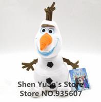 2014 New Frozen Olaf plush doll small 19cm/7.5inch Olaf Plush Toys Dolls  Stuffed Toys Dolls Accessories 1 piece  free shipping