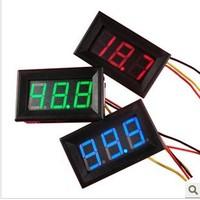 Free shipping>0-200V power supply 4.5-30V digital voltmeter head over 100V DC voltmeter (D3A2)