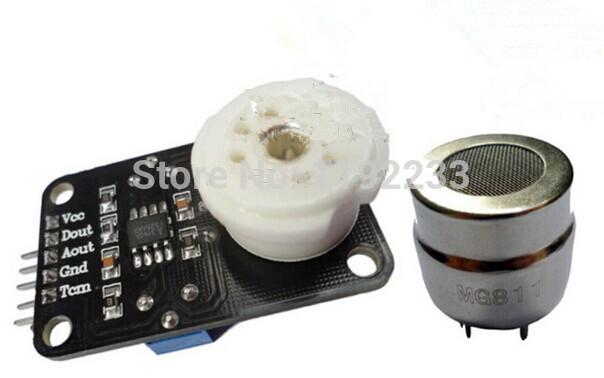 MG811 CO2 Carbon Dioxide Sensor Module Voltage Type 0 2V Voltage Output