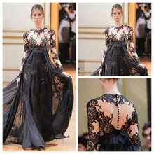 popular lace evening gown
