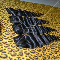 Peruvian Virgin Hair Deep Wave Free Shipping 4pcs/lot Natural Black Can Dyed Rosa Hair Products 5A Unprocessed Human Hair Weaves