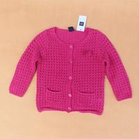 3 colors 2014 new Autumn - Spring kids cardigan sweater Knitting children sweater children outerwear girls cardigan sweater