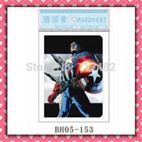 Free Shipping Superhero passport holders 100pcs/lot passport covers Card holders