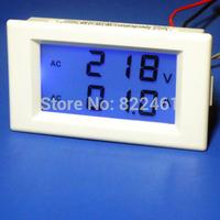 Free shipping>100A split precision transformer voltage meter head dual display LCD (D3B1)