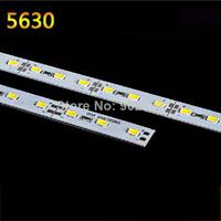 10pcs/lot  Super Bright 100CM DC 12V 72 SMD 5630 LED Hard Rigid LED Strip Bar Light with Aluminium Alloy Shell Hot Sale