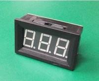 Free shipping>Blue C27 DC ammeter DC9.99A digital / digital ammeter head charging (C5B2)