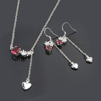 925 Silver Sets Fashion Jewelry Silver Jewelry Sets CS665 Necklace/Earrings