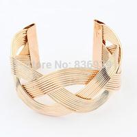 2014 fashion alloy imitation gold jewelry bracelets chains