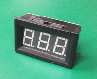 Free shipping>Red C27 DC ammeter DC9.99A digital / digital ammeter head charging (D3B2)