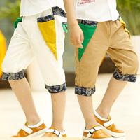 2014 new  summer children's clothing Korean boy pants kids  pants fight  hue boy pants free shipping