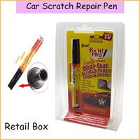 Retail Packing! 1 pc Portable Fix It Pro Clear Car Scratch Repair Remover Pen Simoniz Clear Fix It Painting Pens