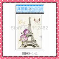 Free shipping Tour Eiffel passport holders 100pcs/lot passport covers Card holders