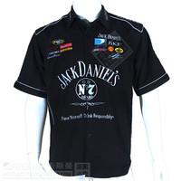 Summer F1 racing overalls machine repair service auto repair service trade of the original single service short-sleeved shirt
