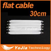 50pcs Flat Coaxial Cable RG6 RG-6 DOOR RV WINDOW Length 30cm Free Shipping Post