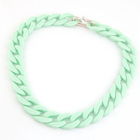 New 2014 Fashion  Exaggerated Candy Colorful chain Necklaces & Pendants For Women Jewelry Wholesale