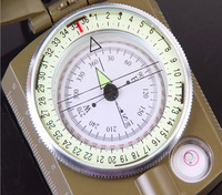 Outdoor multifunction American military compass luminous compass
