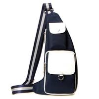 2014 New Waist Bag Men Cross Body Bags Oxford Shoulder Bags Summer Waterproof Sports Bag Blue and Black