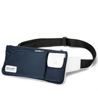 2014 New Waist Bag Men Travel Bags Oxford Shoulder Bags Summer Waterproof Gym Bag Blue and Black