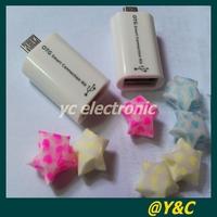 1/pcs  2014 NEW Free shipping OTG Microusb Micro B micro SD XC micro SDHC OTG Micro USB card reader connection kit