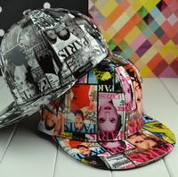wholesale Leather Graffiti snapbacks caps hip hop baseball cap snapback hats for women men 2014 new M35