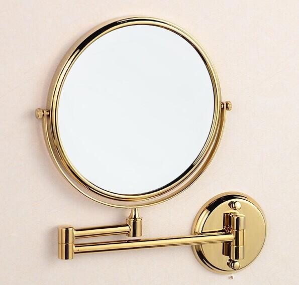 Miroir de salle de bains d 39 or magasin darticles for Miroir trois faces salle de bain