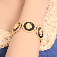 Famous Brand Gold Lion Head Bracelets 2014 New Arrival Free Shipping