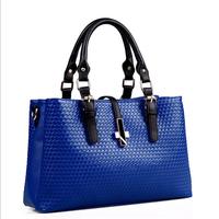 New 2014 Hot Selling High Quality PU Leather Bag Women Messenger Bags Women Handbags Large Shoulder Bags