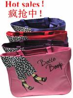 2014 new hot women handbags! Free shipping high-quality nylon cartoon images handbag, casual bags, lunch bags, shopping bags