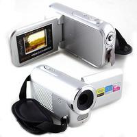 """New 1.5"""" LCD 16MP HD 720P Digital Video Camera 8x Digital ZOOM DV Silver"""
