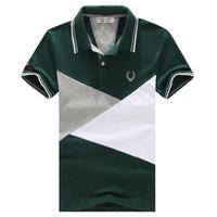 Fashion Men's Shirt,2014 new males plus large size polo shirt size M-5XL,Hot Sale