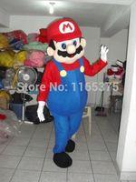 Hot sale 2014 fast shipping Frozen costume Frozen Dress Super Mario Luigi  Mascot Costume for Adult Free Shipping