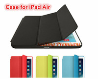 Ultra Slim 1:1 Copy Smart Case For Apple iPad Air Case 1:1 Original Design Stand Tablet Leather Case For iPad 5 Mini Case Cover
