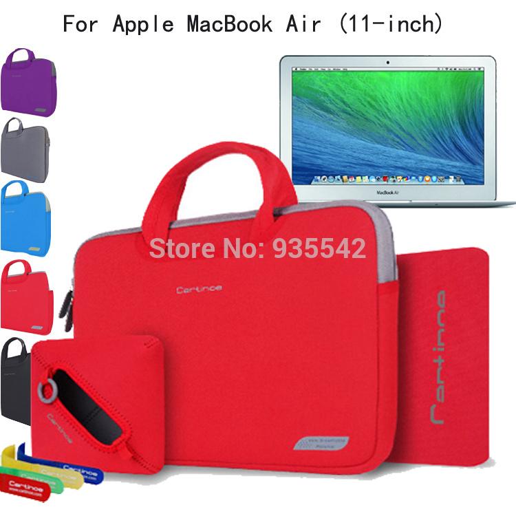 2016 Новый 4 в 1 11.6-дюймовый Ноутбук Сумка 11.6 Мешок компьютера Для Apple MacBook Air 11 Ноутбук Случае Женщины Сумка Портфель Портфель ноутбук apple macbook
