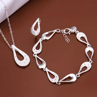 925 Silver Sets Fashion Jewelry Silver Jewelry Sets CS610 Necklace/Ring/Bracelets