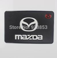 2014 sale direct selling logo latex high quality mazda M2 M3 M5 M6 cx-5 CX-7 slip-resistant pad table slip
