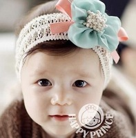 Fashion Design Baby Girls Kids Infants Children Newborn Big Flower Headband Headwear Hair Accessories free shipping
