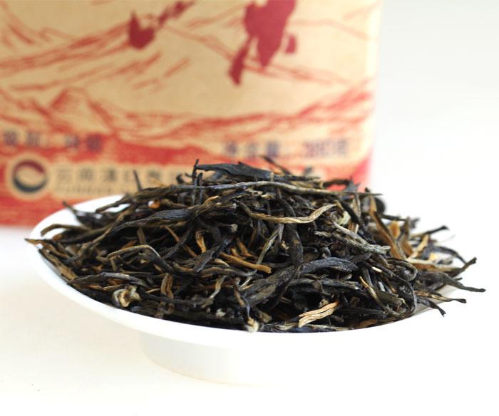 Traditional Chinese black tea yunnan classic 58 dianhong high aroma black tea Chinese Hongcha 500g free