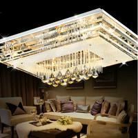 2014 Promotion Limited 0-5w Lustres De Sala Modern Glass Crystal Ceiling Lamp Lighting Minimalist Bedroom Living Room Led Lights