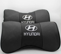 modern Tucson of yue lang move elantra IX35 IX3 Genuine leather headrest The bamboo carbon A neck pillow cowhide pillows