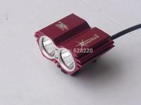 SolarStorm 5000Lm 2x CREE XML U2 LED Bicycle Light bike HeadLight Headlamp Light 4pcs/lot