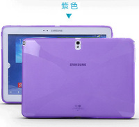 Free screen protector! tablet protective shell silicon case for samsung Galaxy Note 10.1 2014 Edition P600 P601 P605